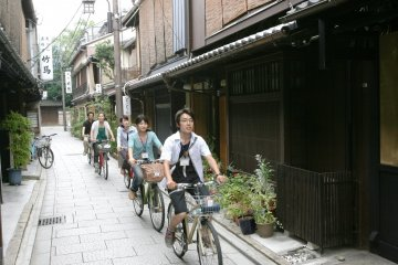Kyoto Back Street Guided Bike Tour
