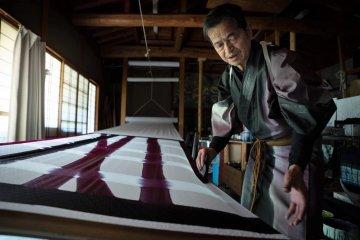 Kyoto, Arashiyama: Visit Color-changing Fabric Studio