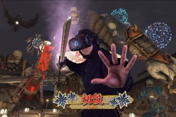 Virtual Reality and Ninja Experience in Tokyo