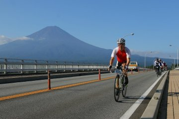 Mt Fuji Cycling Event, Day Trip from Tokyo, Sep 8, Sun