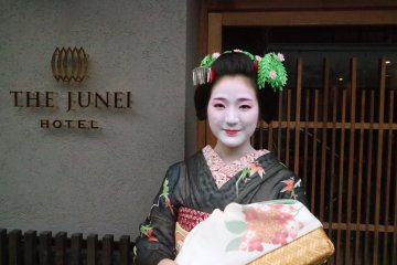 Private Maiko Performance at The Junei Hotel