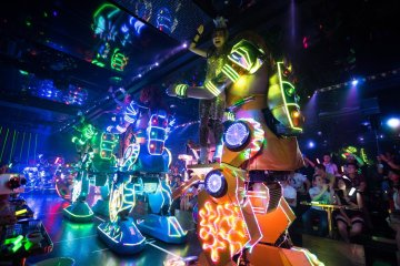 Robot Restaurant Show in Tokyo