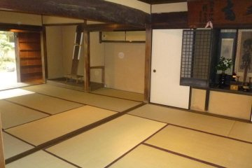 <p>Inside, the ninja home looks like any other</p>