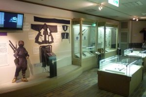 The Ninja Museum displays all manner of real ninja items