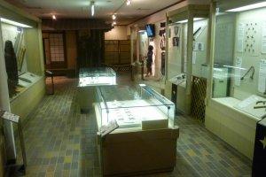 Inside the ninja museum...