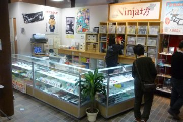 <p>The ninja souvenir stand caters to every ninja needs!</p>