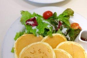 เมนูแพนเค้กแบบของคาวกับอีกทางเลือกของคนที่ชอบกินแพนเค้ก