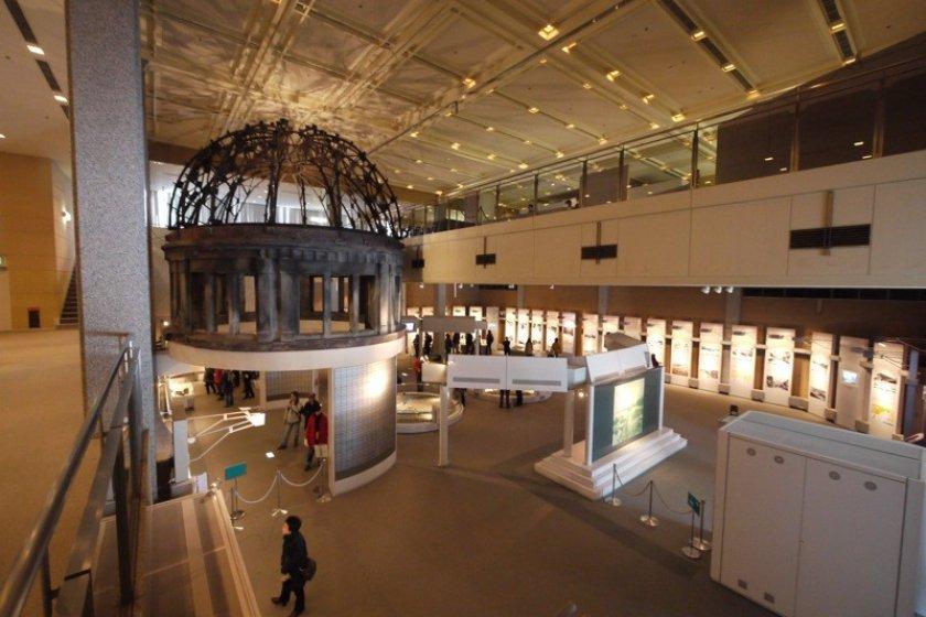 Inside the Peace Museum