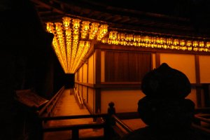 Just one of the many beautiful sights that await you at Koyasan