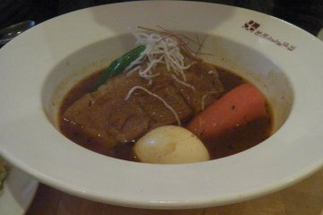 <p>Beef soup curry &nbsp;</p>