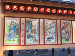 歌舞伎演目の錦絵