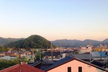 <p>View from your room at the&nbsp;Hotel Yoshida Maizuru, a 10 minute stroll from the Maizuru International Cruise Ship Terminal in Kyoto Prefecture</p>