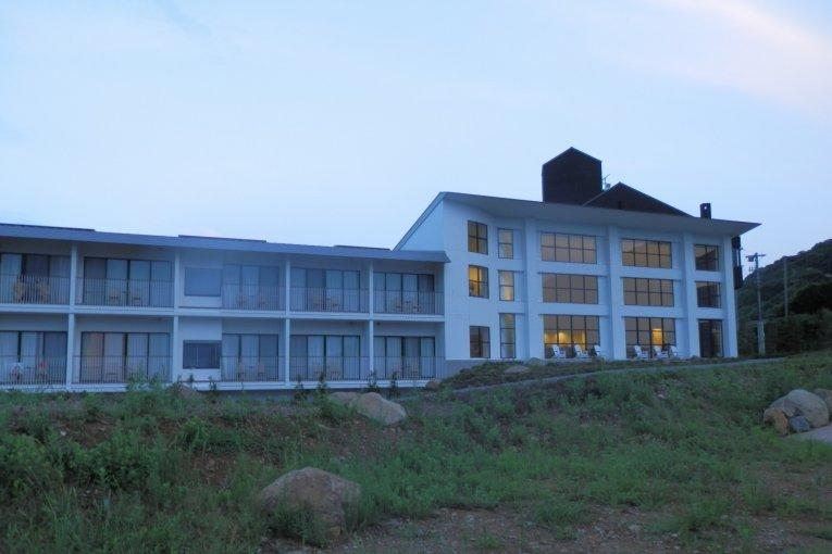 長崎、上五島巡り 6: リゾートホテル マルゲリータ
