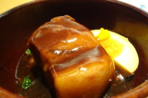 Sweet and tender simmered pork. This dish is just like it sounds!