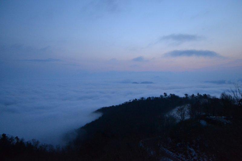 <p>Just before the sunrise.&nbsp;</p>