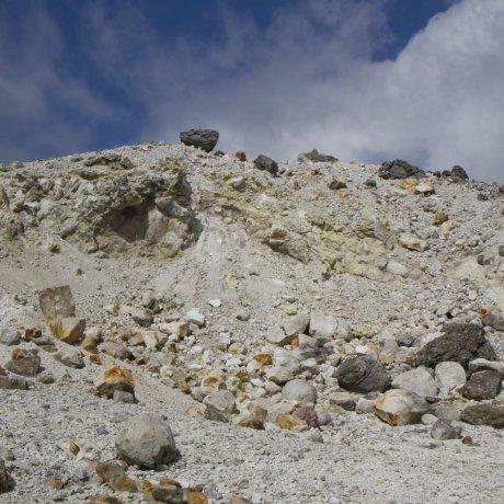 기리시마(霧島)의 유황산