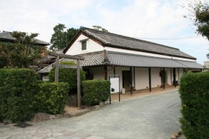 Old storehouse at the head of the samurai tenements