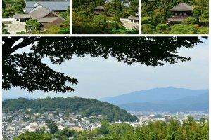 จุดชมวิวที่สามารถมองเห็นเมืองเกียวโตอีกมุม
