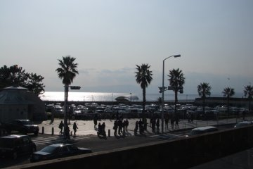 <p>View of the beach from the second floor</p>