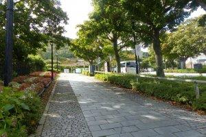 ทางเดินในย่านโมโตมาจิ