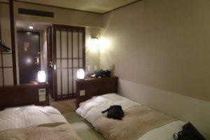 ภายในห้อง กว้างขวางและที่นอนนุ่ม Japanese-style room