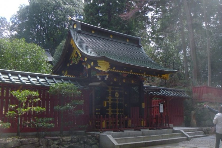 The gate, Nehanmon, symbolically marking the entrance to the afterlife.