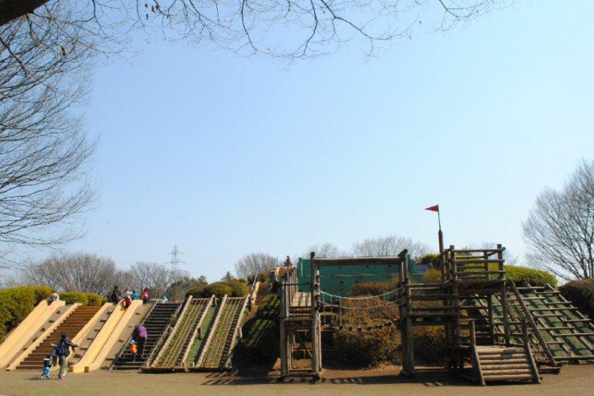 Koganei Koen\'s main playground
