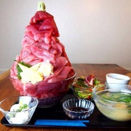 Déjeuner à Tokyo: Thon Rouge à Gogo