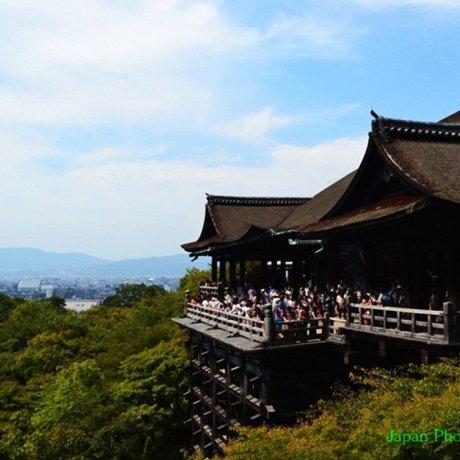Kiyomizu วัดน้ำใส แห่งเกียวโต