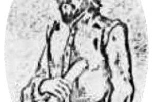 Woodblock print of William Adams