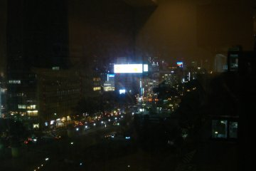 View from the 14th floor