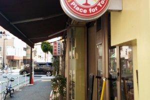 Walking alongside the same street, the restaurant is easily visible.
