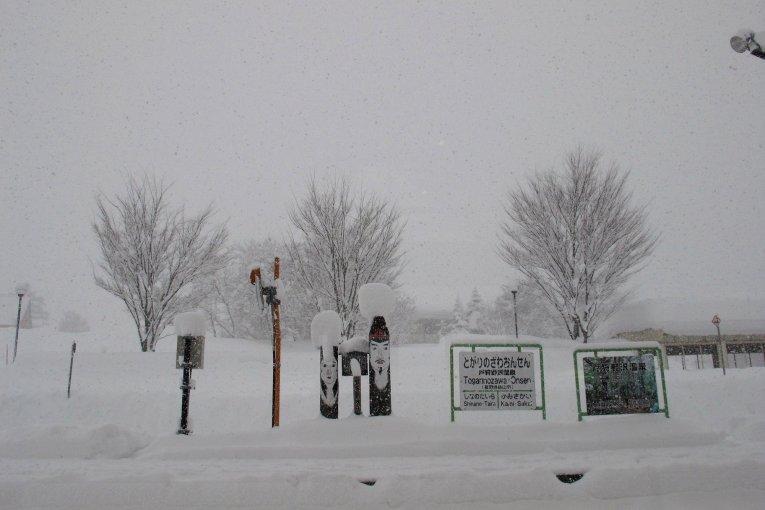 โนซาวะ ออนเซ็น:เมืองเล็กในม่านหิมะ