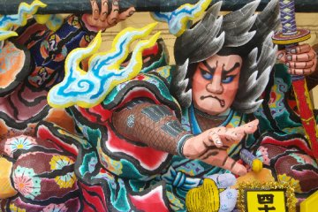 Dressing Up for Nebuta Matsuri