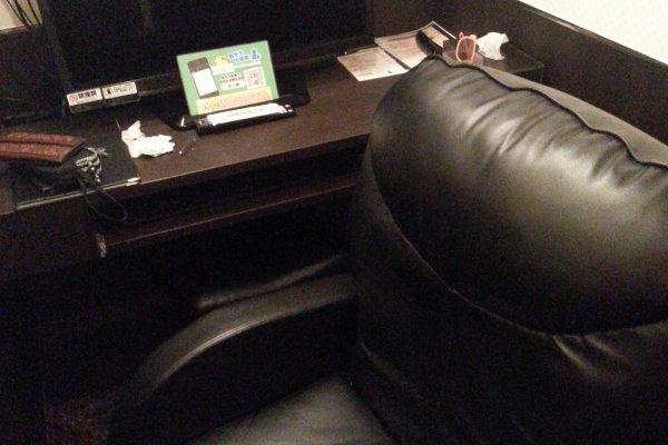 ห้องพร้อมเก้าอี้นอน