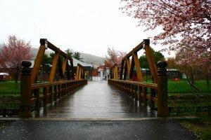 สะพานข้ามไปเขตพิพิธภัณฑ์