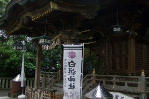 The main pavilion