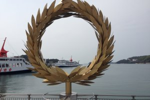 At Shodoshima Port