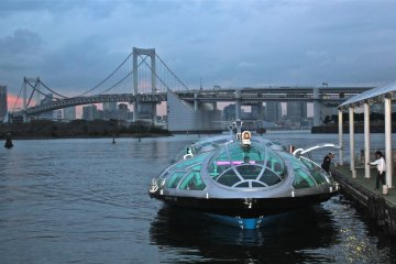 <p>One of the highlights in the park is the Water Bus that comes from Asakusa, Hinode Wharf and other locations.</p>