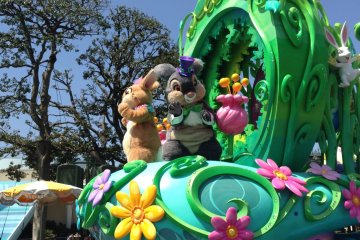 <p>A special Easter version parade!</p>