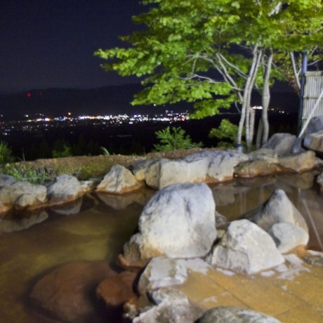 Shiratori Onsen: Upper Bath