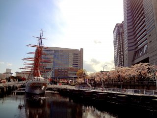Nippon-maru sailing ship