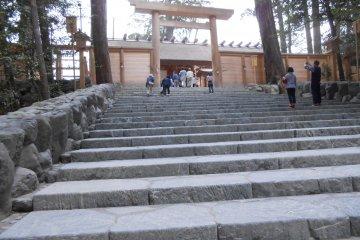The Holy Shinto Shrine Ise Jingu