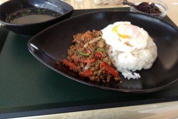 <p>A delicious lunch from Vietnam in the museum&#39;s cafe.</p>