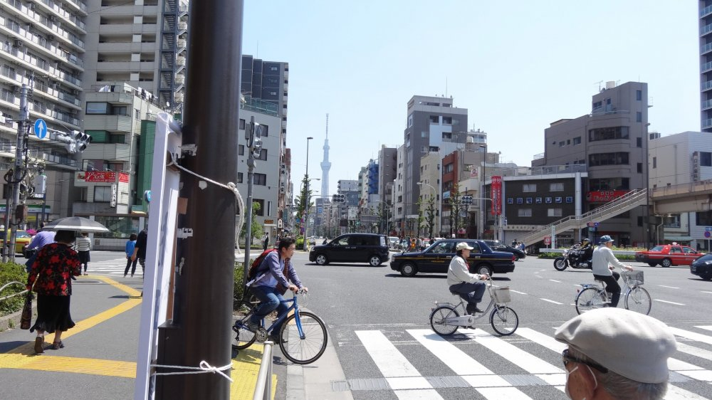โตเกียวจริงๆ แล้วเป็นเมืองแห่งจักรยาน