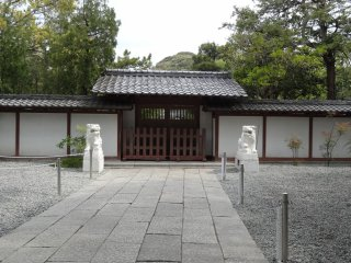 กำแพงวัดโกะโตะกุ-อิน