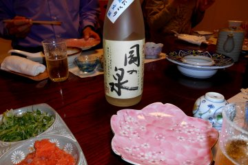 양조장에서 나온 후쿠이의 토속주 '오카노 이즈미'중 하나!
