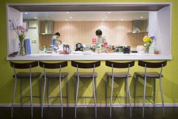 <p>Kitchen area.</p>
