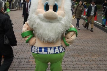 <p>Arrive early and you might get to meet the club mascot outside the stadium</p>