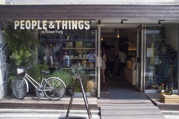 People and Things, a Melbourne-style brunch cafe with a curated selection of women's clothing.